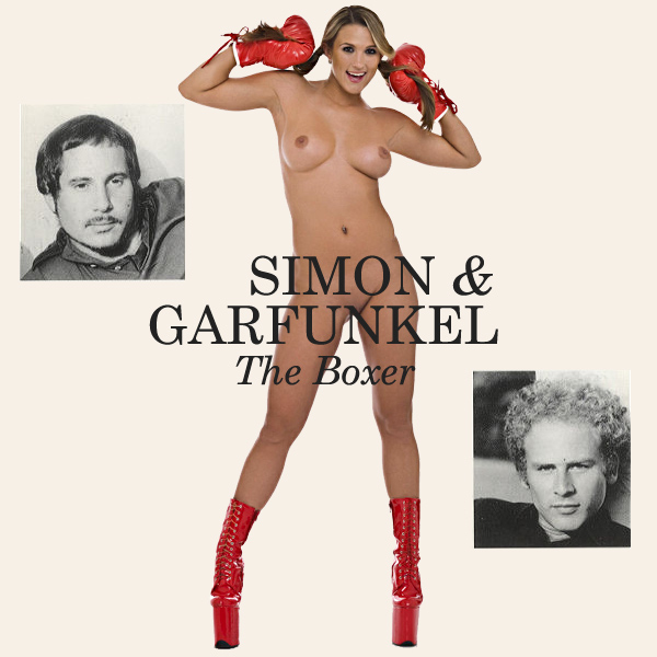 Cover Artwork Remix of Simon Garfunkel The Boxer