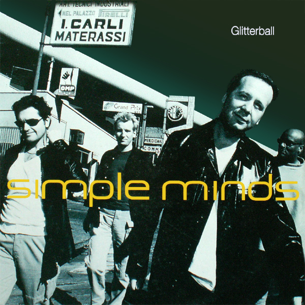 Original Cover Artwork of Simple Minds Glitterball