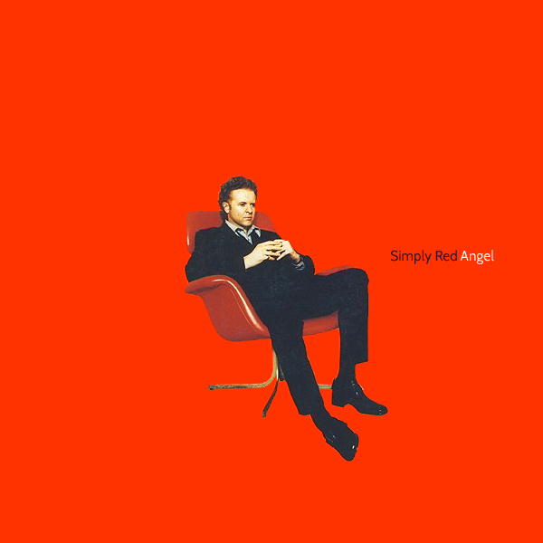 Original Cover Artwork of Simply Red Angel