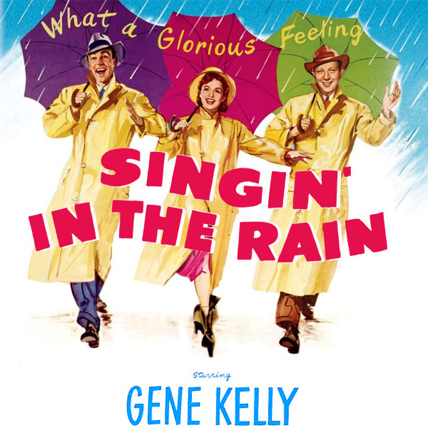 Original Cover Artwork of Singin In The Rain