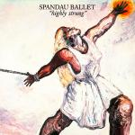 Original Cover Artwork of Spandau Ballet Highly Strung