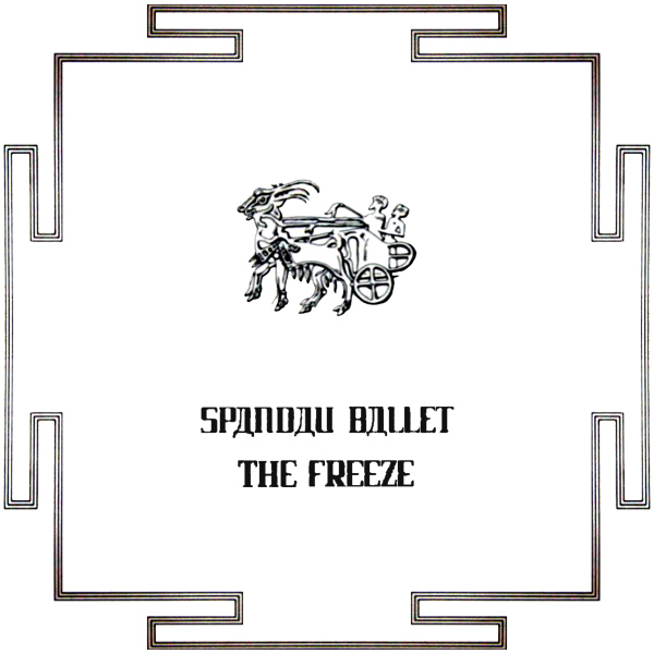 Original Cover Artwork of Spandau Ballet The Freeze