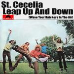 Original Cover Artwork of St Cecelia Leap Up And Down