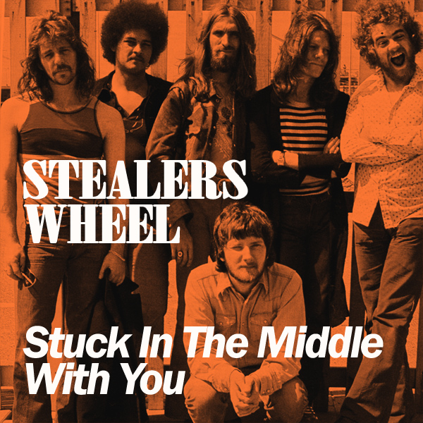 Original Cover Artwork of Stealers Wheel Stuck In The Middle