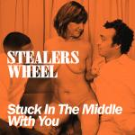 Cover Artwork Remix of Stealers Wheel Stuck In The Middle
