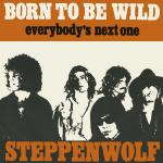 Original Cover Artwork of Steppenwolf Born Wild