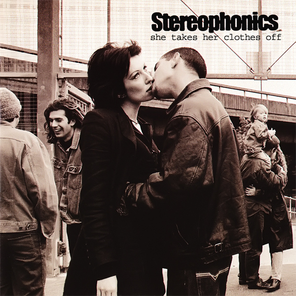 Original Cover Artwork of Stereophonics She Takes Her Clothes Off