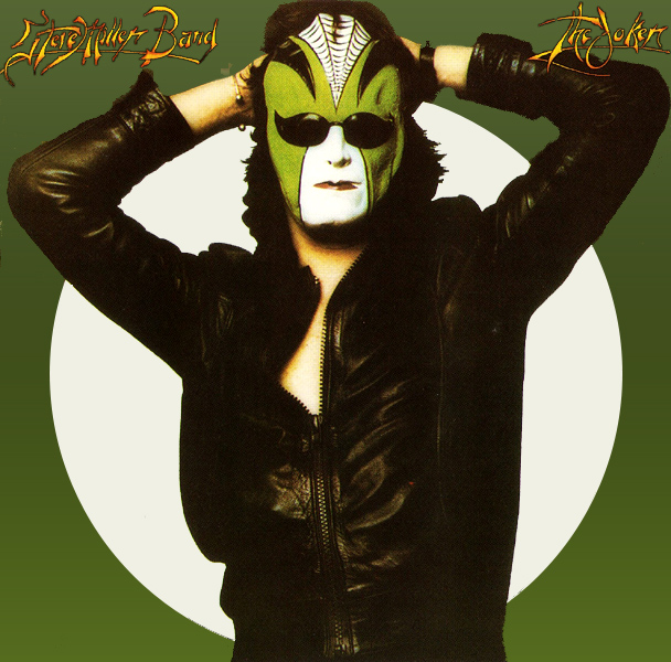 Original Cover Artwork of Steve Miller Joker