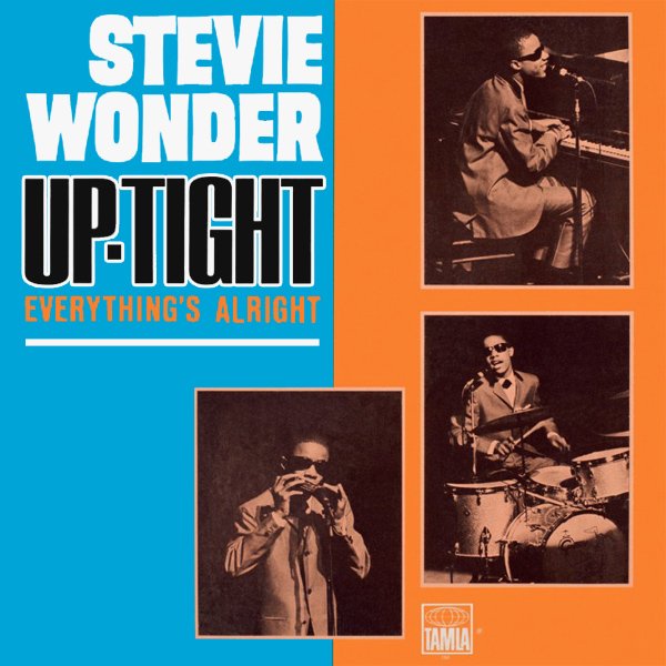 Original Cover Artwork of Stevie Wonder Up Tight