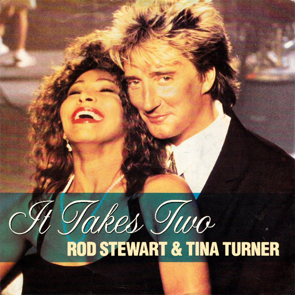 Original Cover Artwork of Stewart Turner It Takes Two