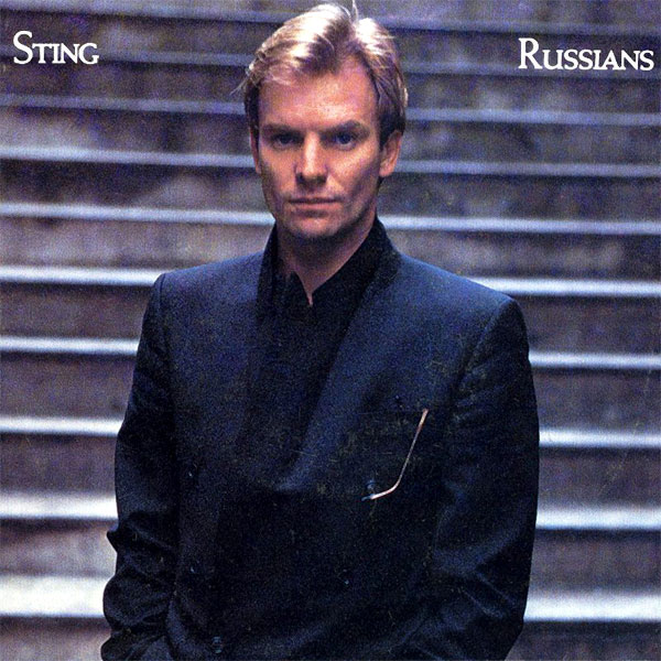 Original Cover Artwork of Sting Russians