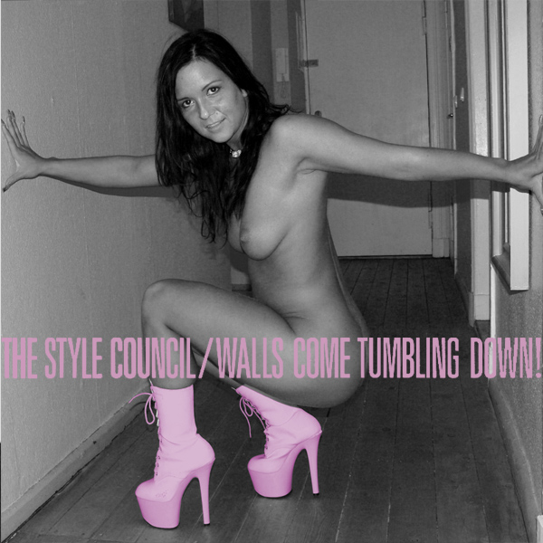 Cover Artwork Remix of Style Council Walls Come Tumbling Down