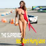 Cover Artwork Remix of Supremes You Cant Hurry Love