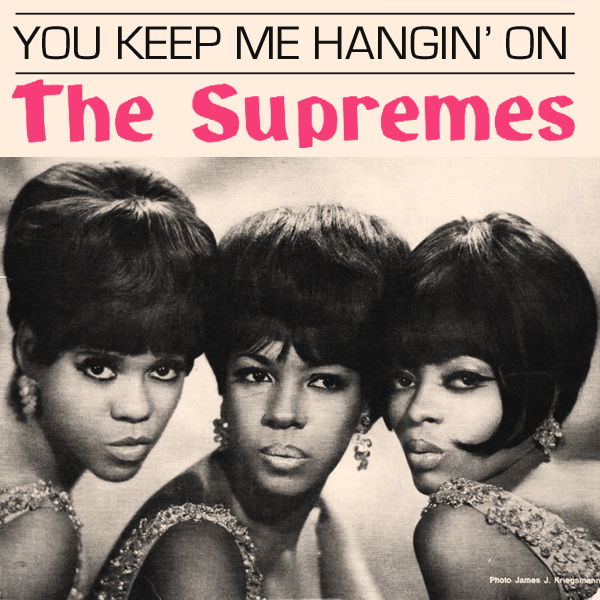 Original Cover Artwork of Supremes You Keep Me Hangin On