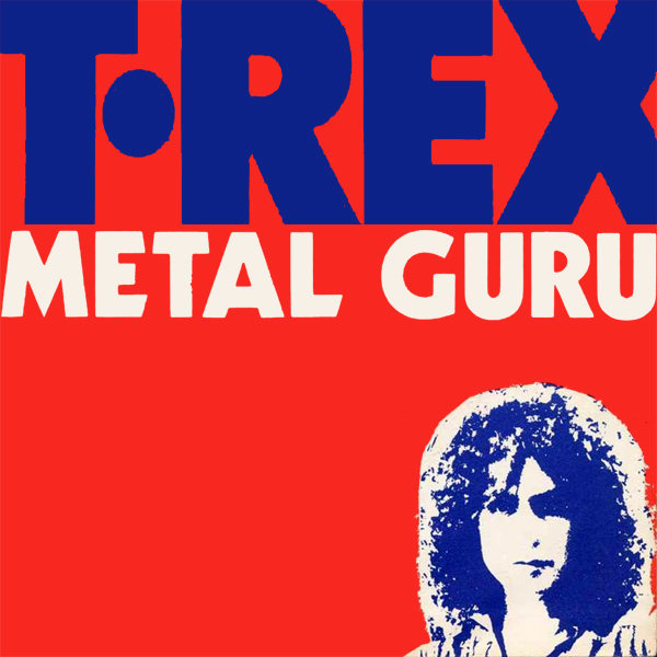 Original Cover Artwork of T Rex Metal Guru
