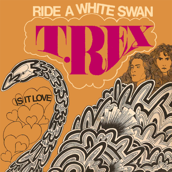 t rex ride a white swan 1