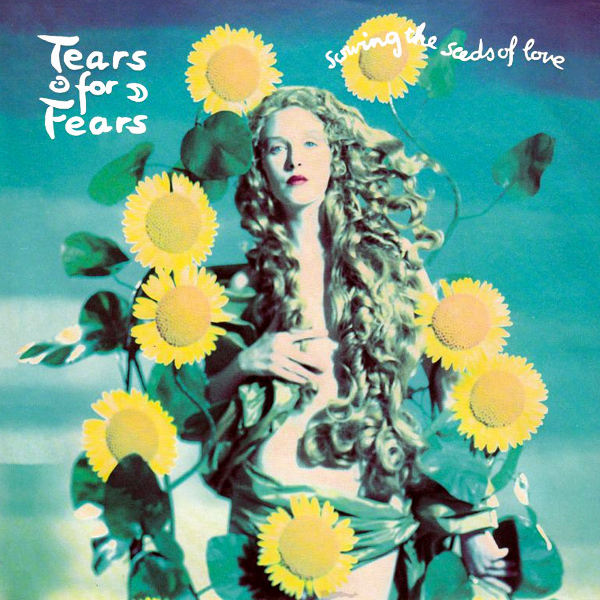 Original Cover Artwork of Tears For Fears Sowing The Seeds Of Love