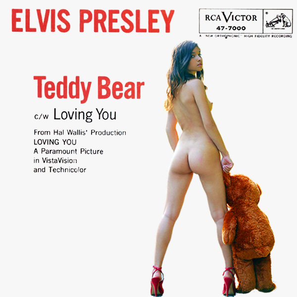 Cover Artwork Remix of Teddy Bear Elvis Presley