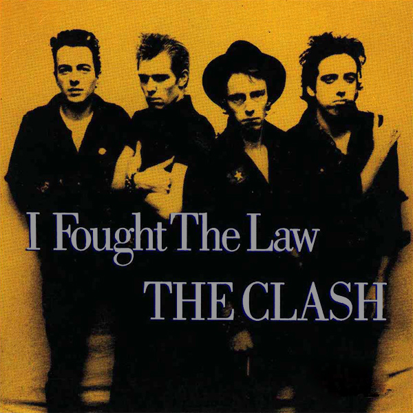 Original Cover Artwork of The Clash I Fought The Law