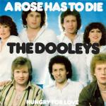 Original Cover Artwork of The Dooleys A Rose Has To Die