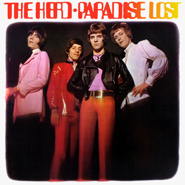 Original Cover Artwork of The Herd Paradise Lost