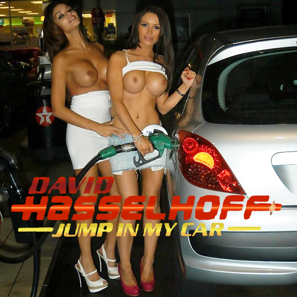 the hoff jump in my car remix