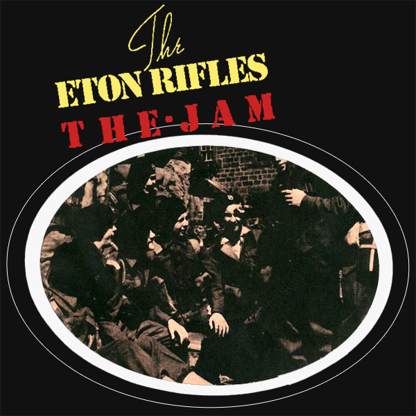 Original Cover Artwork of The Jam The Eton Rifles