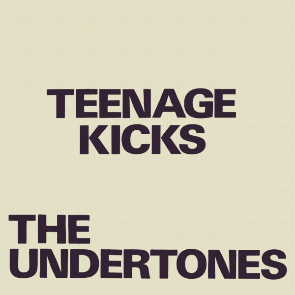 Original Cover Artwork of The Undertones Teenage Kicks