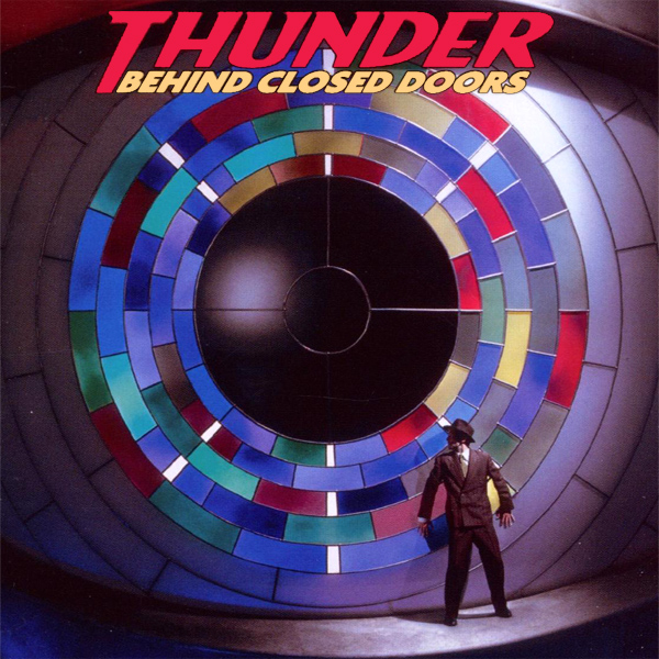 Original Cover Artwork of Thunder Behind Closed Doors