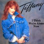 Original Cover Artwork of Tiffany I Think Were Alone Now