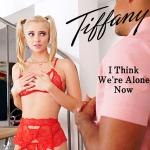 Cover Artwork Remix of Tiffany I Think Were Alone Now