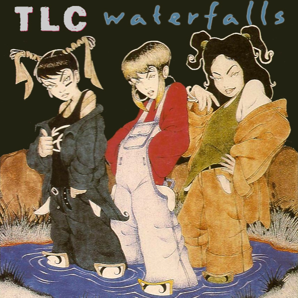 Original Cover Artwork of Tlc Waterfalls