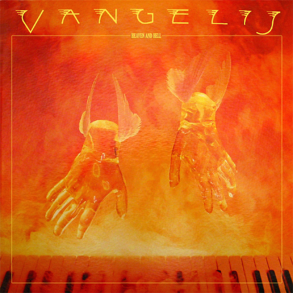 Original Cover Artwork of Vangelis Heaven Hell