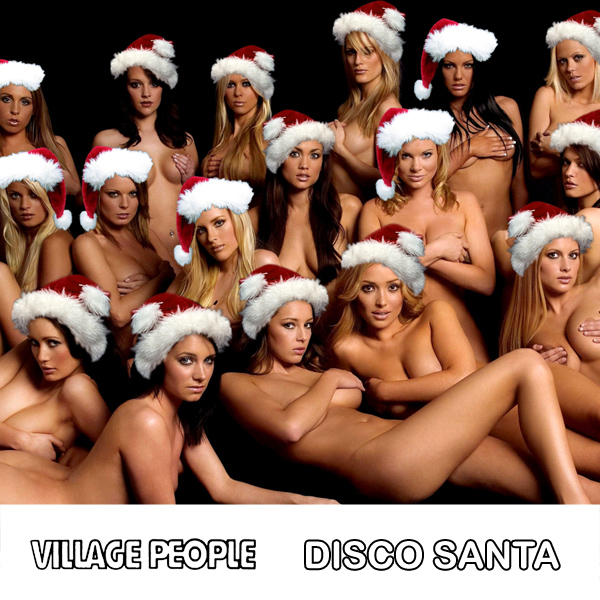 Cover Artwork Remix of Village People Disco Santa