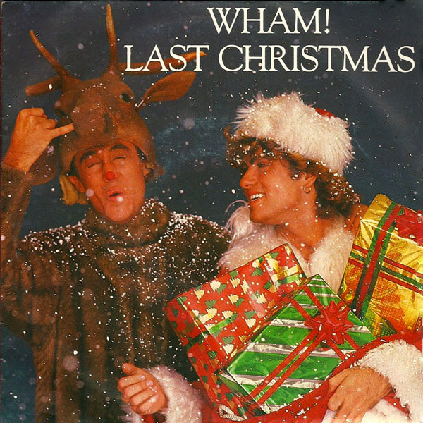 Original Cover Artwork of Wham Last Christmas