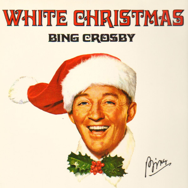 Original Cover Artwork of White Christmas Bing Crosby