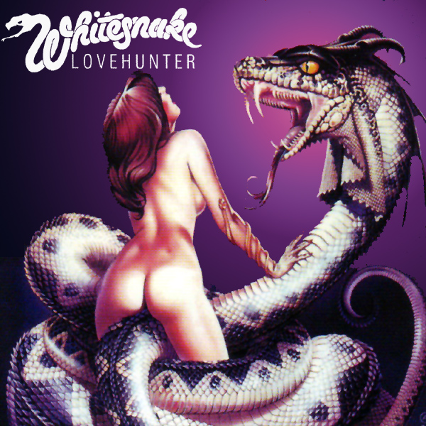 Original Cover Artwork of Whitesnake Lovehunter Original