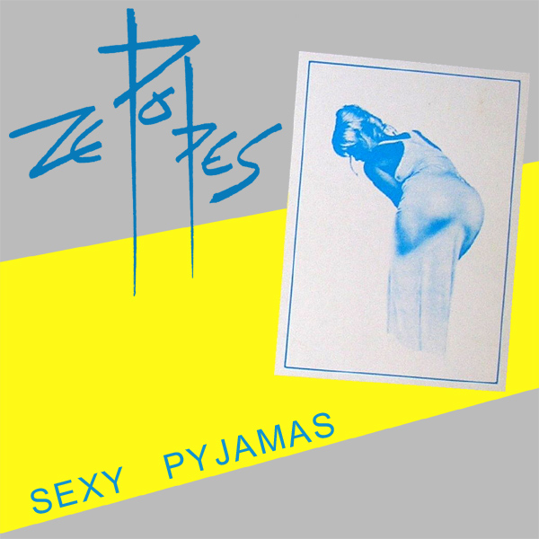 Original Cover Artwork of Ze Popes Sexy Pyjamas